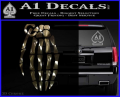 Skeleton Grenade Decal Sticker 3DC Vinyl 120x97