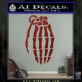 Skeleton Grenade Decal Sticker DRD Vinyl 120x120