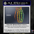 Skeleton Grenade Decal Sticker Spectrum Vinyl 120x120