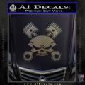 Skull And Pistons Decal Sticker JDM CFC Vinyl 120x120