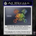 Skull And Pistons Decal Sticker JDM Spectrum Vinyl 120x120
