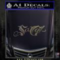 So Cal Script Decal Sticker CFC Vinyl 120x120