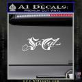 So Cal Script Decal Sticker White Vinyl 120x120