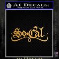 So Coal Star Script D2 Decal Sticker Gold Metallic Vinyl 120x120