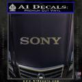 Sony Decal Sticker CFC Vinyl 120x120