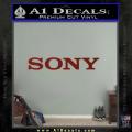 Sony Decal Sticker DRD Vinyl 120x120