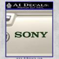 Sony Decal Sticker Dark Green Vinyl 120x120