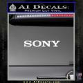 Sony Decal Sticker White Vinyl 120x120