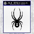 Spyder Ski Decal Sticker Black Vinyl 120x120