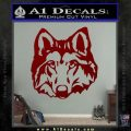 Wolf Head Decal Sticker DF DRD Vinyl 120x120