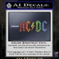 ACDC Rock Decal Glitter Sparkle 120x120