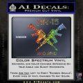 AR 15s Gun Rights AR15 Decal Sticker Glitter Sparkle 120x120