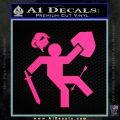 Adventure Time Video Game D1 Decal Sticker Pink Hot Vinyl 120x120
