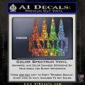 Ammo Text Bullets Clip Decal Sticker Glitter Sparkle 120x120