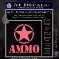 Army Ammo Star Full Decal Sticker 10 120x120