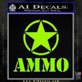 Army Ammo Star Full Decal Sticker 13 120x120