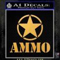 Army Ammo Star Full Decal Sticker 15 120x120