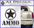 Army Ammo Star Full Decal Sticker 18 120x97