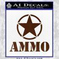 Army Ammo Star Full Decal Sticker 19 120x120