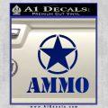 Army Ammo Star Full Decal Sticker 20 120x120