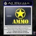 Army Ammo Star Full Decal Sticker 3 120x120