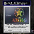 Army Ammo Star Full Decal Sticker 4 120x120