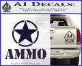 Army Ammo Star Full Decal Sticker 8 120x97