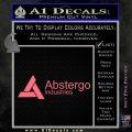 Assassins Creed Abstergo Industries Decal Sticker Wide 10 120x120