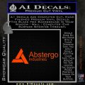 Assassins Creed Abstergo Industries Decal Sticker Wide 11 120x120