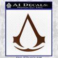 Assassins Creed Decal Sticker D1 BROWN Vinyl 120x120