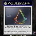 Assassins Creed Decal Sticker D1 Glitter Sparkle 120x120
