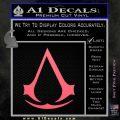Assassins Creed Decal Sticker D1 Pink Emblem 120x120