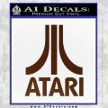 Atari Decal Sticker Full BROWN Vinyl 120x120