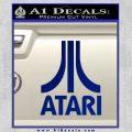 Atari Decal Sticker Full Blue Vinyl 120x120