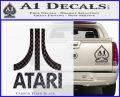 Atari Decal Sticker Full Carbon FIber Black Vinyl 120x97