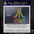 Atari Decal Sticker Full Glitter Sparkle 120x120