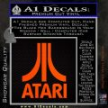 Atari Decal Sticker Full Orange Emblem 120x120