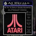 Atari Decal Sticker Full Pink Emblem 120x120