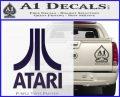 Atari Decal Sticker Full PurpleEmblem Logo 120x97