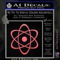Atomic Cloud Atom Decal Sticker D1 Pink Emblem 120x120