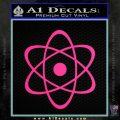 Atomic Cloud Atom Decal Sticker D1 Pink Hot Vinyl 120x120