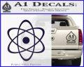 Atomic Cloud Atom Decal Sticker D1 PurpleEmblem Logo 120x97