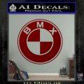 BMX Bike Decal Sticker BMW Parody DRD Vinyl 120x120