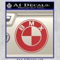 BMX Bike Decal Sticker BMW Parody Red 120x120