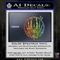 BSG Colonial Seal Decal Sticker Battle Star Galactica Spectrum Vinyl Black 120x120