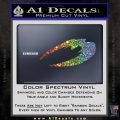 BSG Cylon Raider New Series Alternate Decal Sticker Battle Star Galactica Glitter Sparkle 120x120