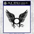 BSG Tattoo Decal Sticker Battle Star Galactica Viper Pilot D1 21 120x120