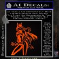 Bat Girl Hot Batgirl Decal Sticker Orange Emblem 120x120