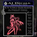 Bat Girl Hot Batgirl Decal Sticker Pink Emblem 120x120