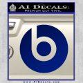 Beats By Dre Decal Sticker Blue Vinyl 120x120